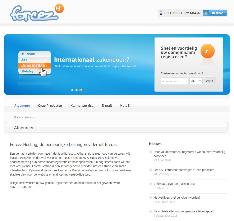 Gratis .nl domein