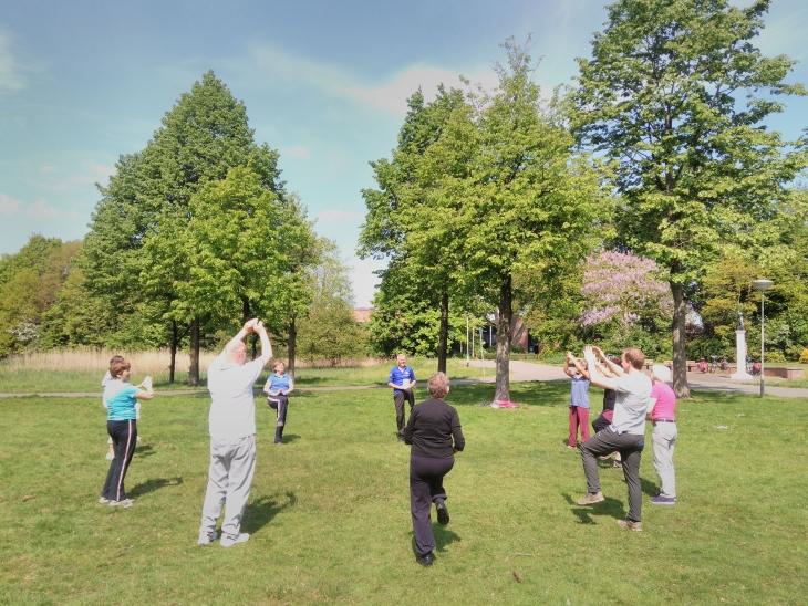 Zomerfit 70 plus in Brabantpark - Gym 14 juli